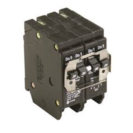2 Pole 20 Amp Breaker (Bq Quad Breaker One 2 Pole 20 Amp And One 2 Pole 30 Amp Independent)