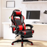 Merax High-Back Racing Ergonomic Gaming Chair with Footrest