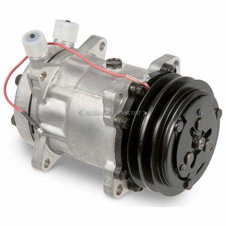 New AC Compressor & A/C Clutch Replaces Sanden 4663 (New A/c Compressor)
