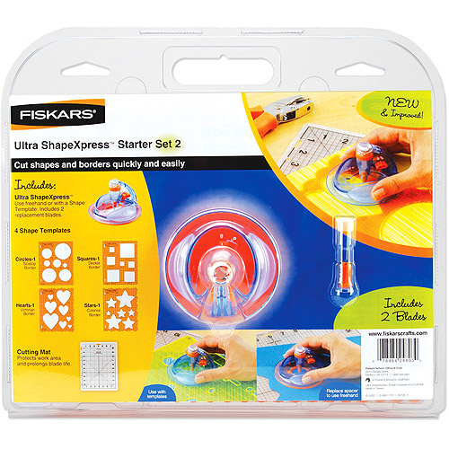 Fiskars Ultra ShapeXpress Starter Set #2