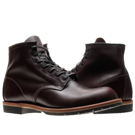 Red Wing Heritage 9011 6-Inch Beckman Round Black Cherry Men's Boots 09011 ()