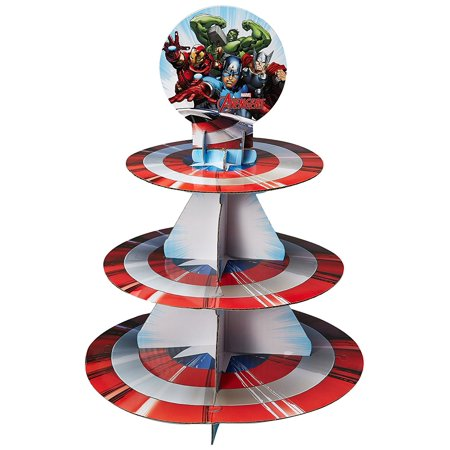 Avengers Cupcake Treat Stand - Avengers Cupcake Stand