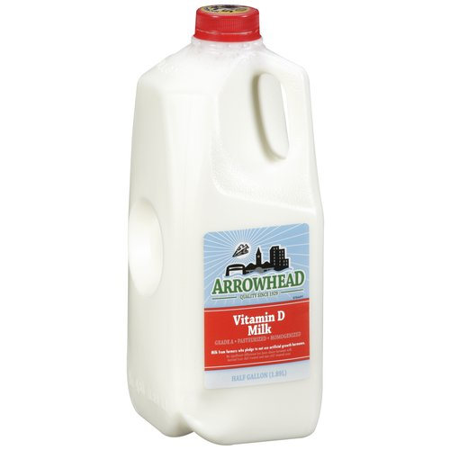 Arrowhead Vitamin D Milk, 0.5 gal