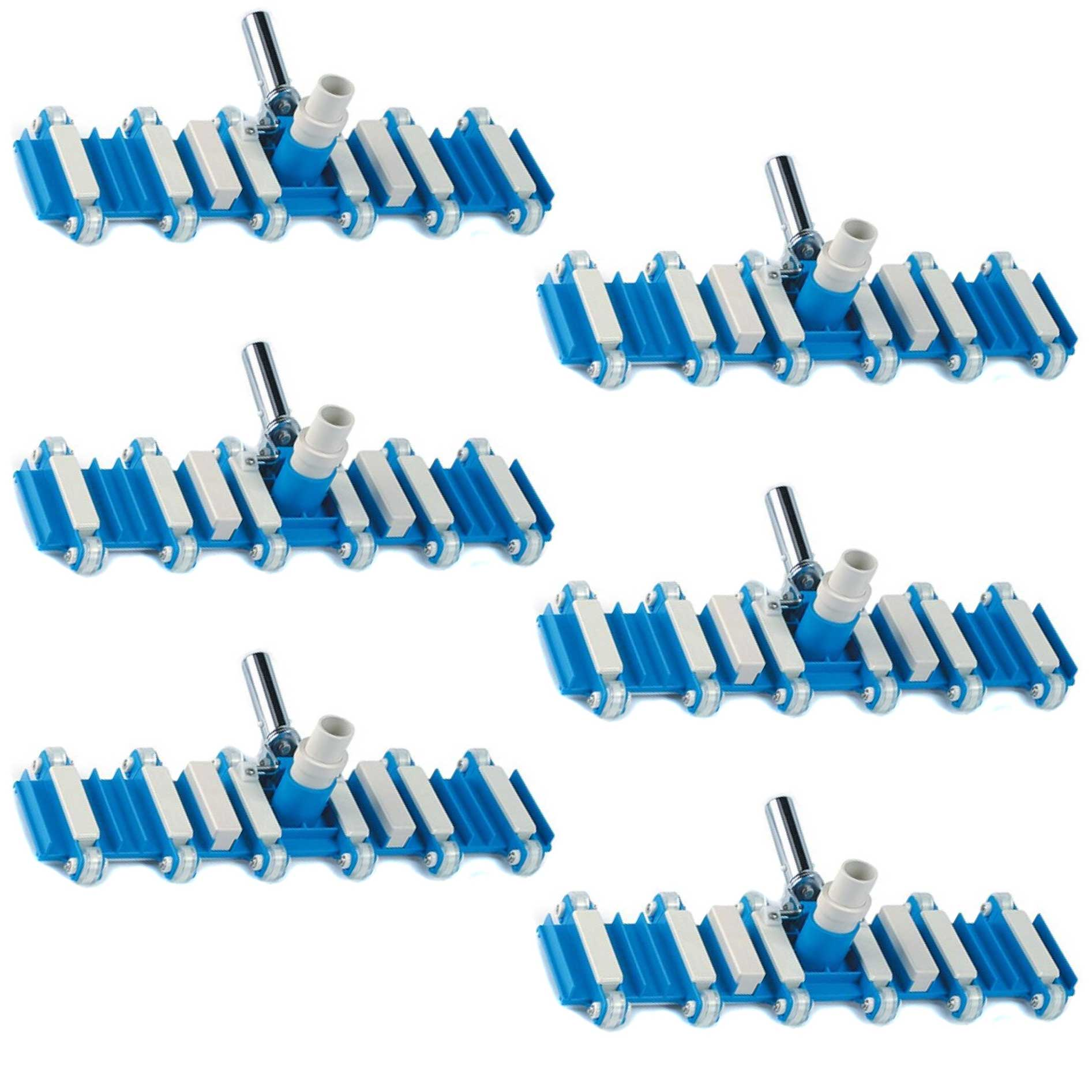 Pentair 222 Swimming Pool Pro Series Commercial Suction Vacuum Head (6 Pack)
