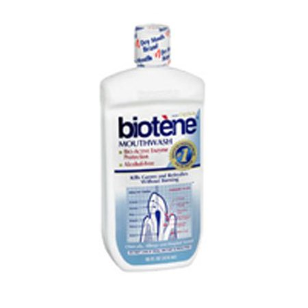 Biotene Dry Mouth Oral Rinse, Fresh Mint 16 oz ( Pack of 3)