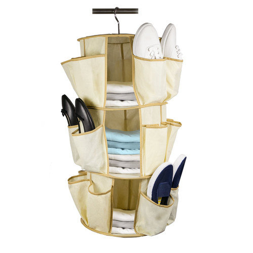 Home Basics Sunbeam Shoe Carousel Organizer