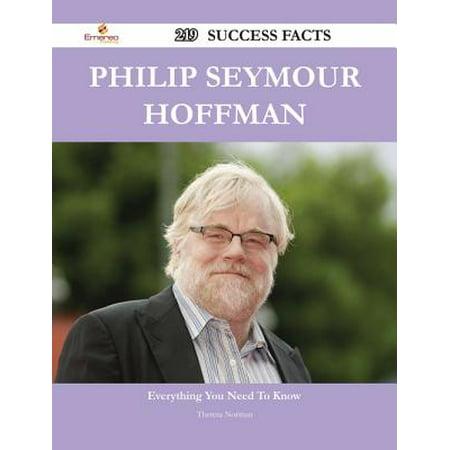 Philip Seymour Hoffman 219 Success Facts - Everything you need to know about Philip Seymour Hoffman -