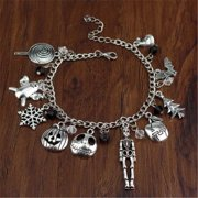 The Nightmare Before Christmas Jack Skellington Sally Gothic Bracelet Gift