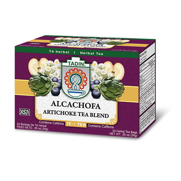 3 PACK Tadin Artichoke Diet Tea Alcachofa Te Total of 72 Tea Bags by TADIN