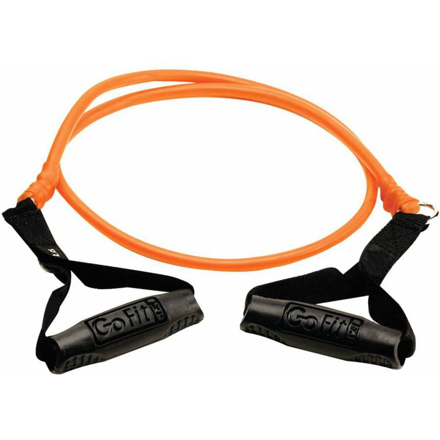 GoFit Smart Weight Power Tube, 25 lbs, Orange