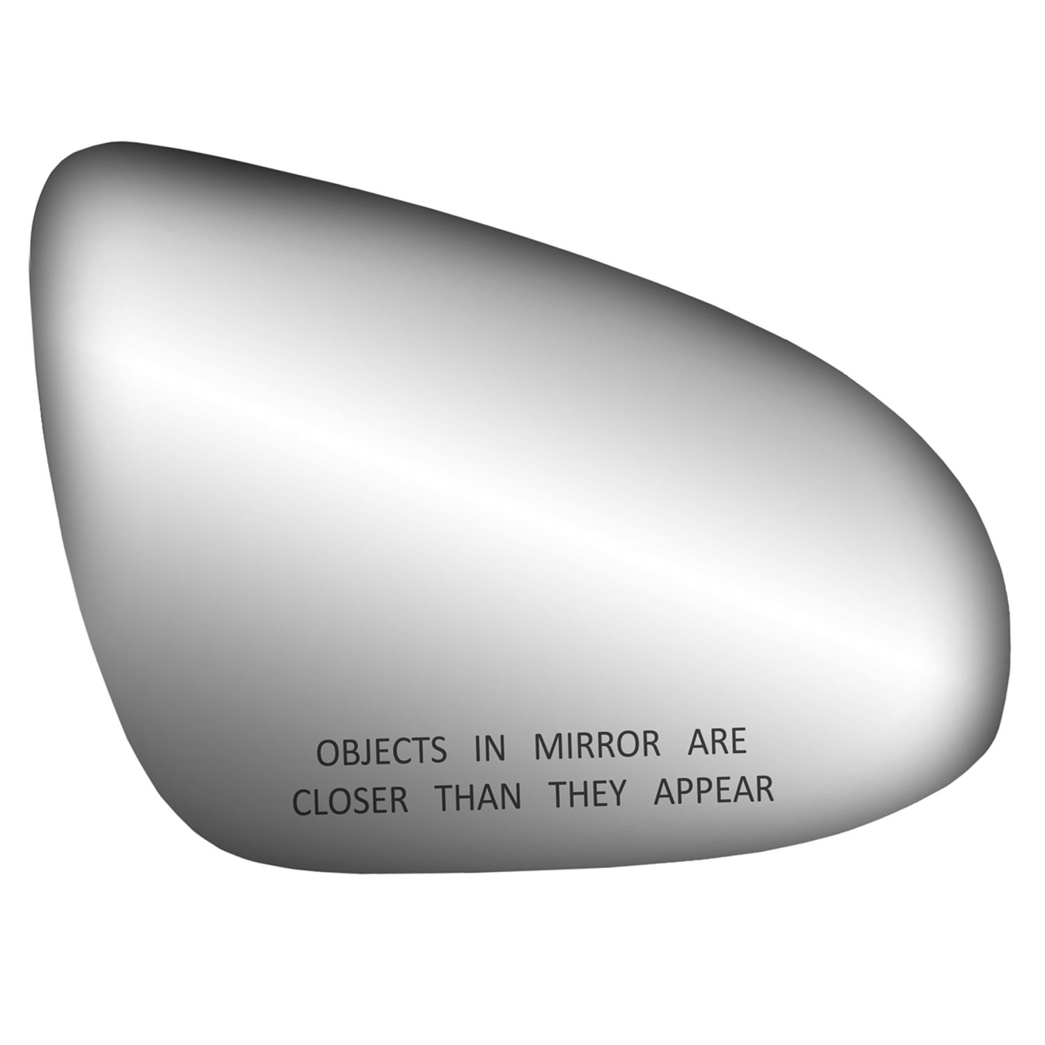 Fit System 90120 Toyota Ford Runner Passenger Side Replacement Mirror Glass