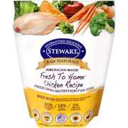 Stewart Pro-Treat Raw Naturals Chicken Recipe Freeze-Dried Dog Food, 12-oz bag
