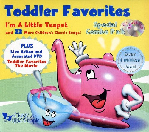 Favorites Series: Toddler Favorites Special Combo (Includes DVD)
