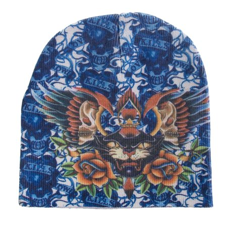 Beanie Skull Cap Kenny Hwang Tattoo Wear Blue Panther One Size Winter - South Park Kenny Hat