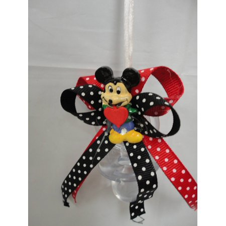 CHARMED Mickey Mouse Pacifier Necklaces Baby Shower Games Favors Prizes 12PC - Baby Shower Mickey Mouse