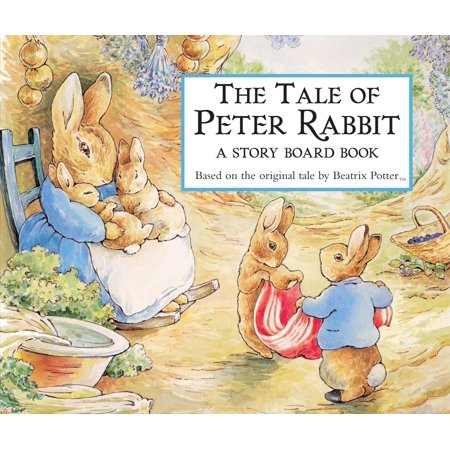 Tale of Peter Rabbit a Story Board Book (Board Book) - Halloween Flannel Board Stories