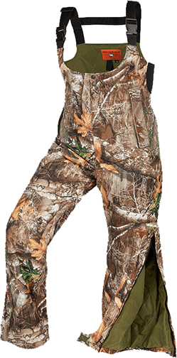 Arctic Shield Women's Classic Elite Bibs Realtree Edge Camo Large by Arctic Shield