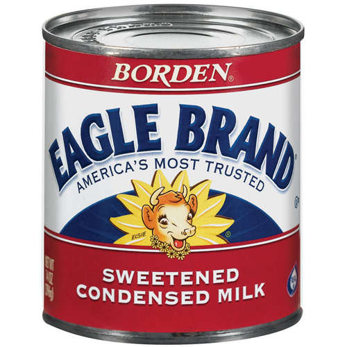 Borden Sweetened Condensed Eagle Brand Milk, 14 oz