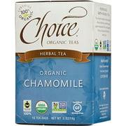 Chamomile Tea-Organic Choice Organic Teas 16 Bag