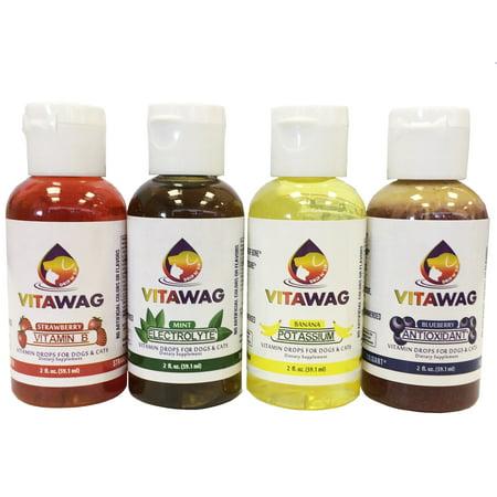 Vitawag Tous Super Natural concentré pour chiens et suppléments liquides Cat