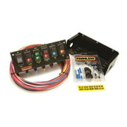 Painless Performance 50302 PAN50302 RACE PANEL 6-SWITCH FUSED