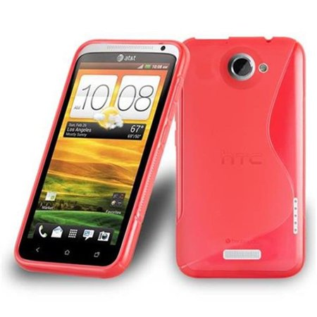 Cadorabo Case for HTC ONE X / ONE X+ cover - Shockproof and Scratch Resistant TPU Silicone Cover - image 2 de 2