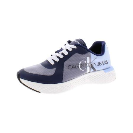 Calvin Klein Men's Adamir Mesh Navy / Chambray Blue Ankle-High Sneaker - 8M