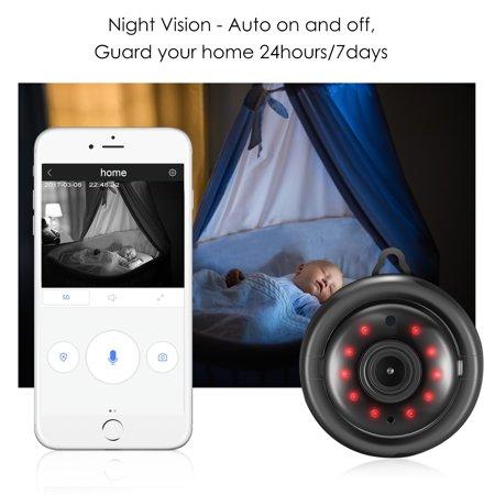 Digoo DG-M1Q 960P 2.8mm Wireless Mini WIFI Night Vision Smart Home Security IP Camera Onvif MonitorNote: IP Camera only support 2.4G RouterDescriptionBrandDigooModelDG-M1Q 2017 Smart Home  - image 3 de 11