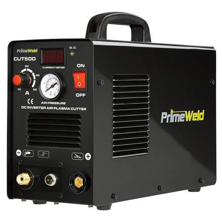PRIMEWELD Premium & Rugged 50A Air Inverter Plasma Cutter Automatic Dual Voltage 110/220VAC 1/2