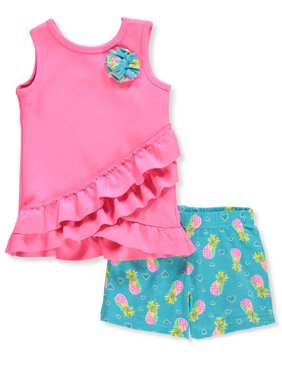 ff0f05429675 Product Image New Chic Girls' 2-Piece Shorts Set Outfit