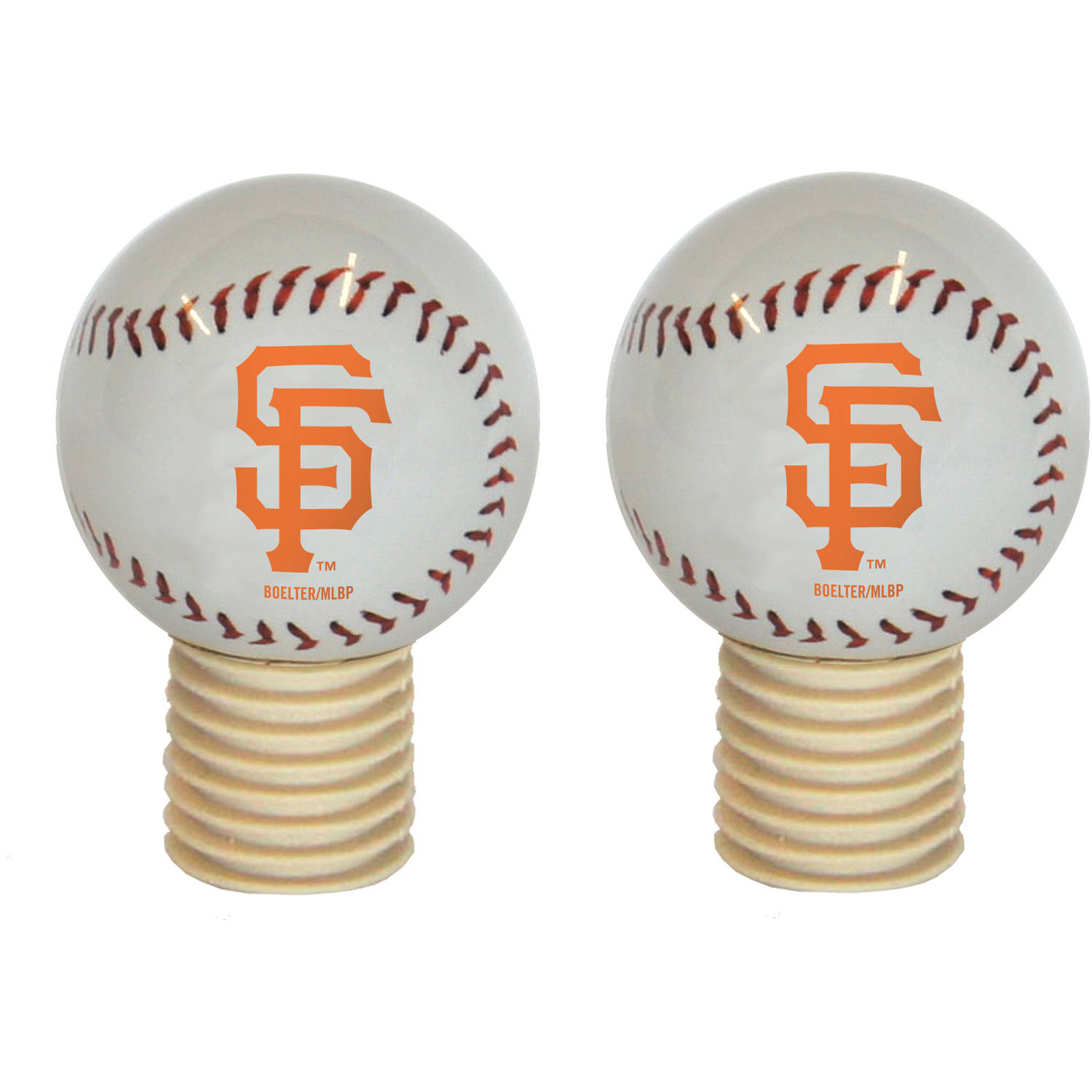 MLB San Francisco Giants 2-Pack Bottle Stopper