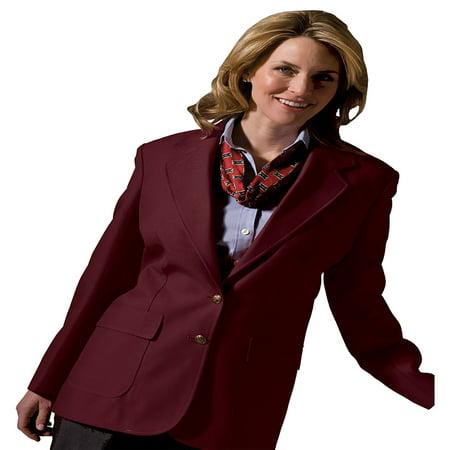 Edwards Garment Women's Two Button Single Breasted Blazer, Style - One Button Single Breasted Blazer