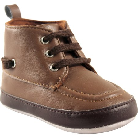 Luvable Friends Newborn Baby Boys High Top Boat Shoe](Chuck Taylors Baby)
