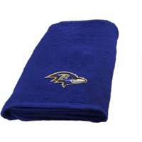 """NFL Baltimore Ravens Polyester 26"""" x 15"""" Hand Towel, 1 Each"""