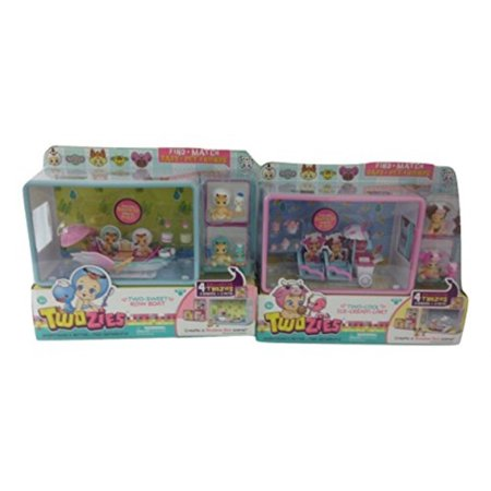 Cardboard Sweet Cart (twozies bundle of 1 two-cool ice cream cart & 1 two sweet row boat)