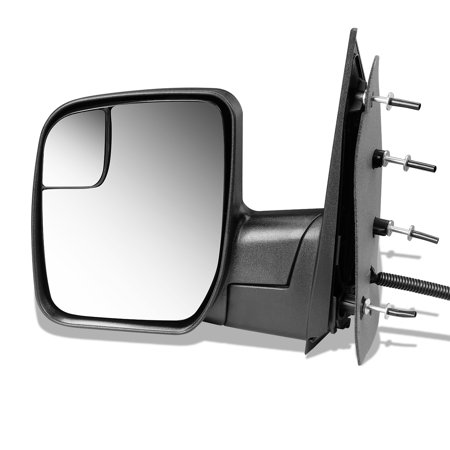 For 2010 to 2014 Ford E150 E250 E350 E450 Econoline OE Style Powered Driver / Left Side View Door Mirror Ac2Z17683Aa 11 12 (Van Power Side View Door)
