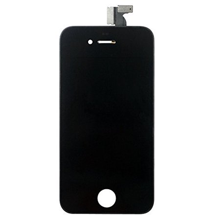 For Iphone 4 Lcd   Digitizer Touch Screen Assembly Black
