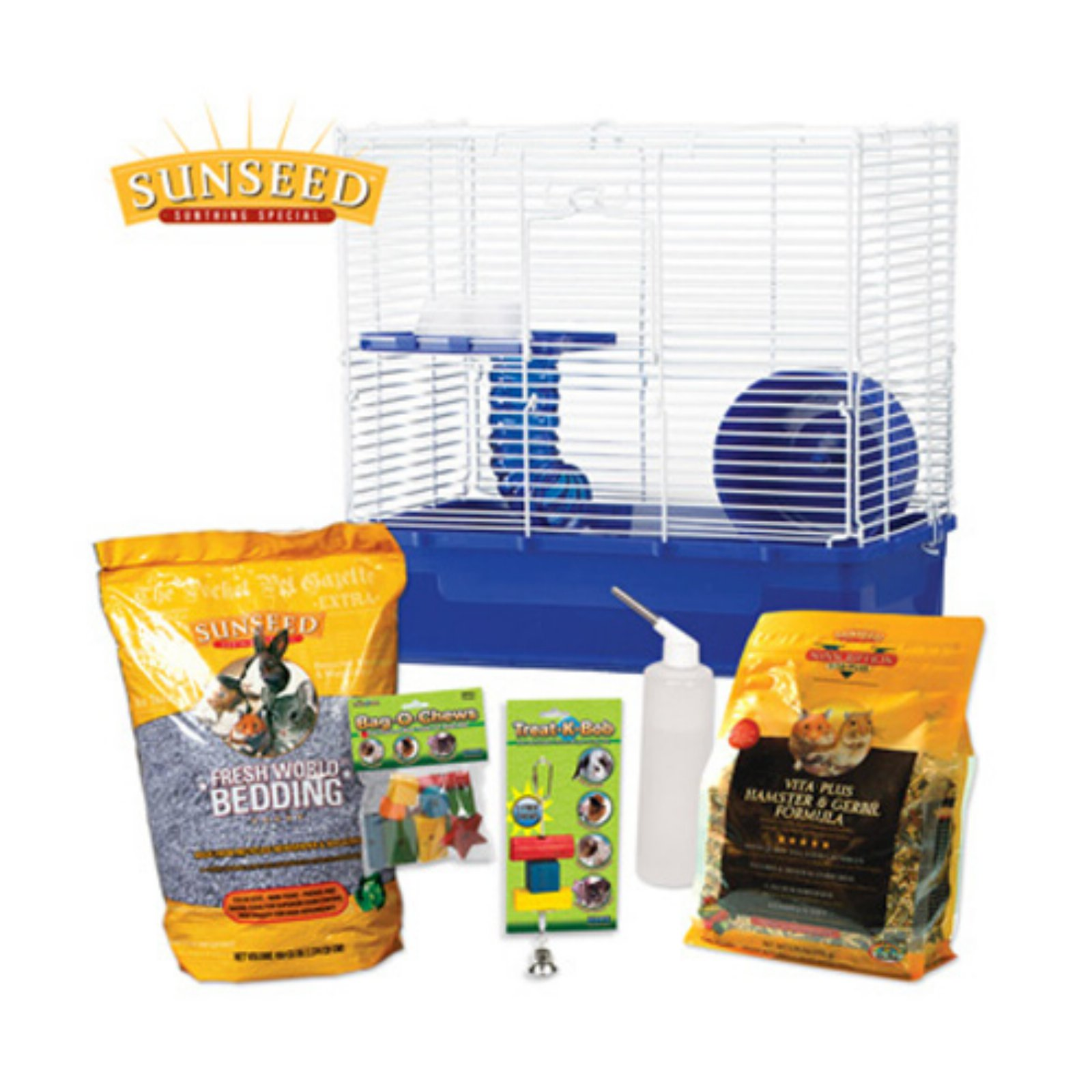 Ware Sunseed Hamster Care Kit by Ware Manufacturing Inc