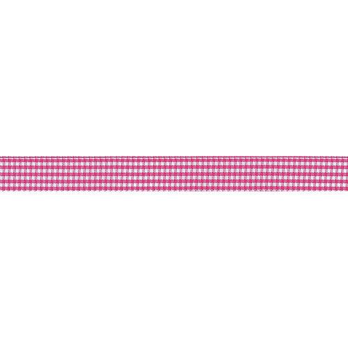 "Offray Microcheck Ribbon, 5/8"" x 9'"