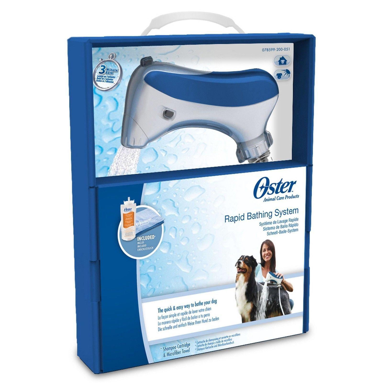 Kruuse Oster Rapid Animal Bathing Shower System RapidBath 78599-200