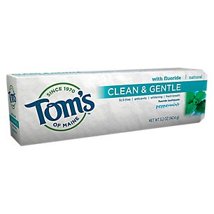 Image Result For Toms Of Maine Clean And Gentle Toothpaste