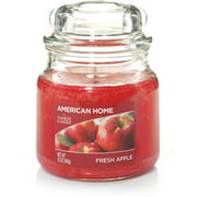 American Home by Yankee Candle Fresh Apple, 12 oz Medium Jar
