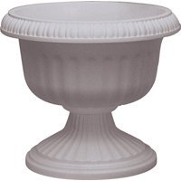 Southern Patio UR1212ST Urn Planter, 10-1/2 in H, Plastic, Stone ()