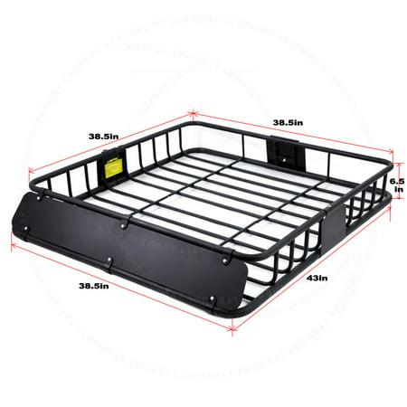 fit nissan cargo basket roof top storage cross bar carrier rack luggage holder for altima. Black Bedroom Furniture Sets. Home Design Ideas