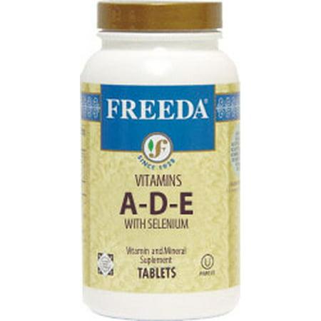 - Freeda Kosher Vitamins A-D-E with Selenium - 100 Tablets