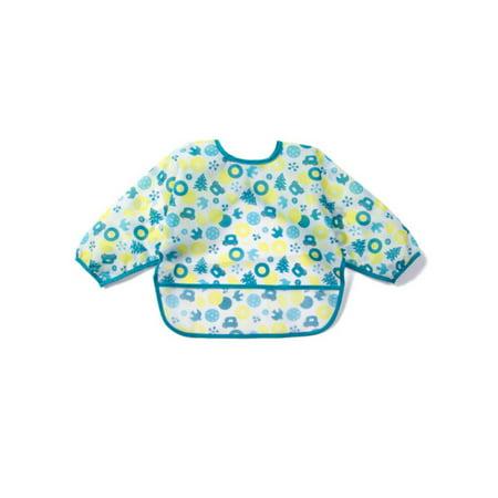 Lavaport 5 Colors Baby Waterproof Long Sleeved Bib with Pocket