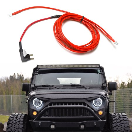 iJDMTOY Plug-N-Play DRL Wiring Kit For Most 7