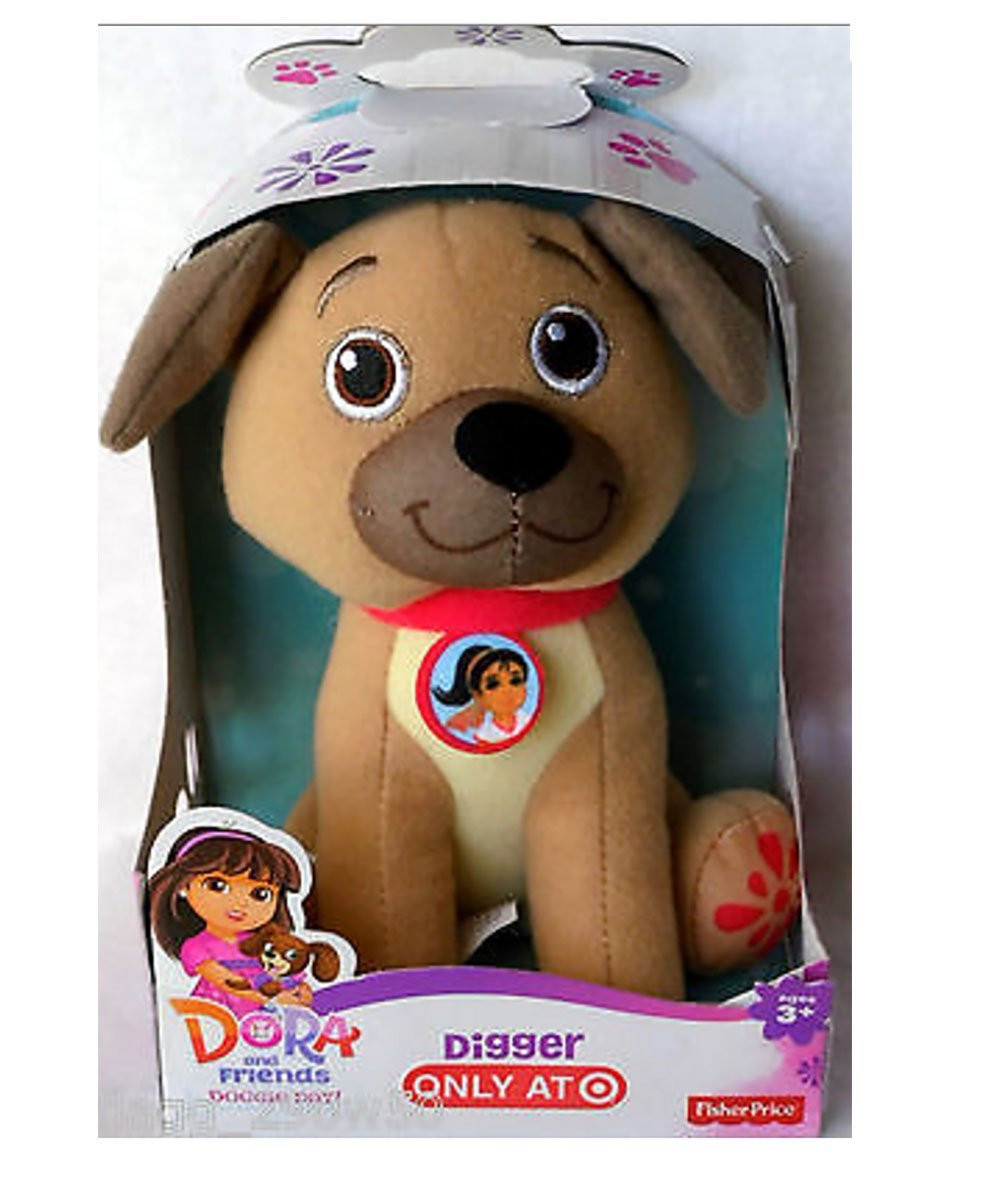 Dora and Friends Doggie Day Digger Plush by