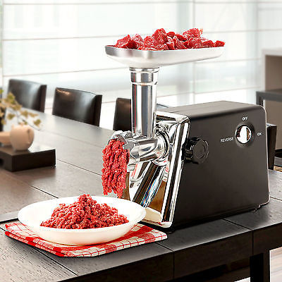 Brand New 1200W Steel Electric Meat Grinder Industrial Food Mincer Sausage Maker Kitchen GSS100255... by GSS