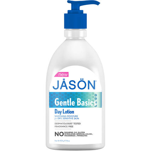 Jason Gentle Basics Day Lotion, 16 oz